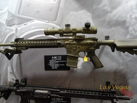 Shot Show Daniel Defense MK12