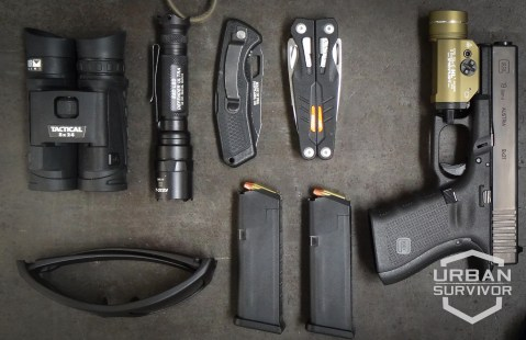 Steiner Optics Tactical Binoculars T824 Surefire E2D Defender Ultra Gerber Order Gerber MP1 Oakley Cerakote Ballistic Detcords Glock 19 Gen 4 Streamlight TLR1 HL Tan