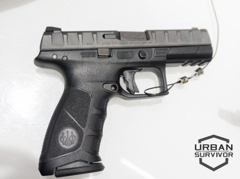 Beretta APX 9mm Striker Fired Pistol Urban Survivor