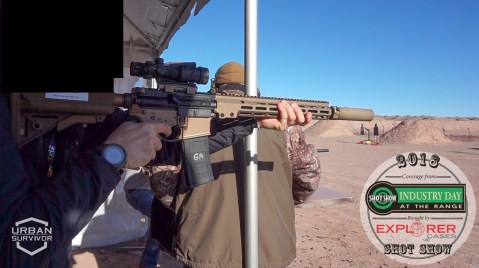 Geissele AR15 SHOT Show 2018 Industry Day at the Range
