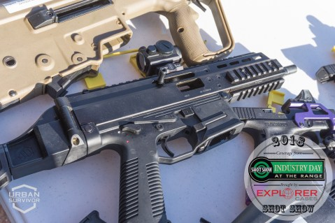 Geissele B&T Trigger SHOT Show 2018 Industry Day at the Range