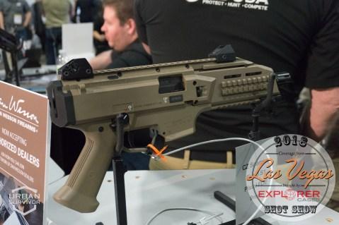 CZ Scorpion Evo Pistol SHOT Show 2018 (1)