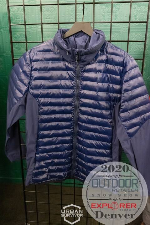 Outdoor Retailer Snow Show 2020 Beyond Clothing K3 - DASCHE JACKET Blue (2)