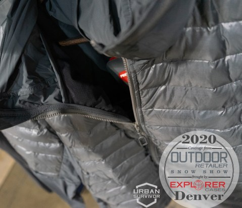 Outdoor Retailer Snow Show 2020 Beyond Clothing K3 - DASCHE JACKET Grey (1)