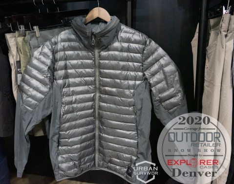 Outdoor Retailer Snow Show 2020 Beyond Clothing K3 - DASCHE JACKET Grey (2)