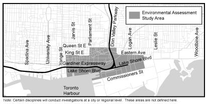 Gardiner Expressway Lakeshore Boulevard East Waterfront Toronto