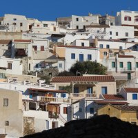 Rewarding stops at Chora or Ioulida  of the Cycladic island of Kea