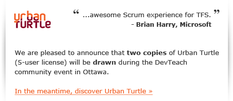 Read Brian Harry's blog about Urban Turtle