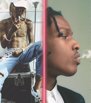 A$AP ROCKY & WIZ KHALIFA ANNOUNCE '16 Day Trip' UK ARENA TOUR