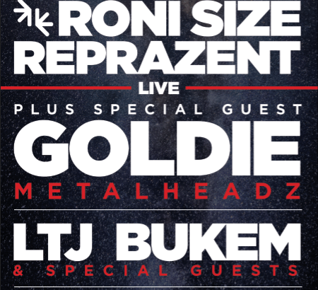 Soundcrash & Playground presents: Roni Size & Reprazent Live  + GOLDIE + LTJ Bukem @ The Roundhouse, London, UK (23rd Oct)