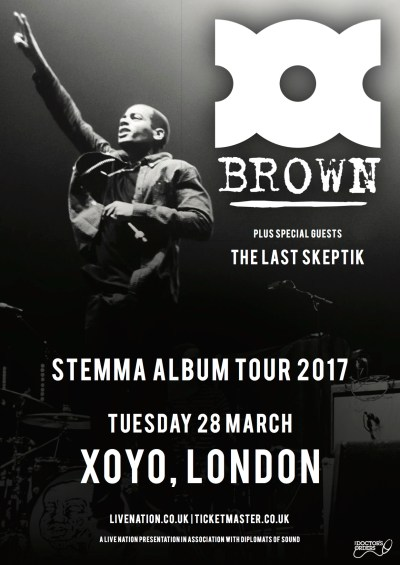 The Doctor's Orders Presents: Doc Brown W/ Support From The Last Skeptik @ XOYO, London, UK (28th March)