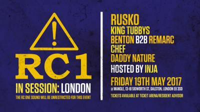 RC1 Sound System - In Session: London @ MangleE8, London, UK (19th May)