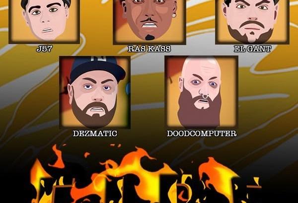 JOAT SLNM ft. J57, Ras Kass, El Gant, Dezmatic & DoodComputer - Fire (Animated Music Video)