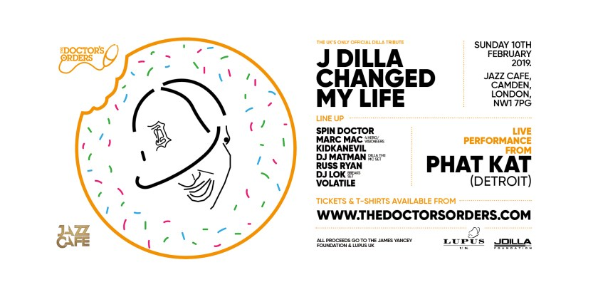 1a07fdcae562 J DILLA CHANGED MY LIFE  The UK s Only Official J Dilla Tribute    The