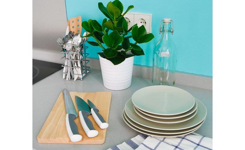 Detalle Utensilios de cocina en Estudio Loft 3.1 UrbanVida La Latina4