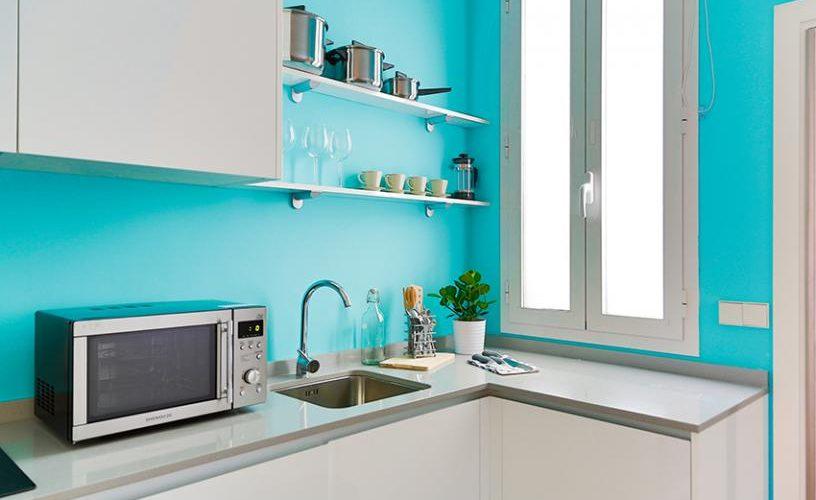 Cocina estudio loft 3.3 UrbanVida la latina_ Madrid 2