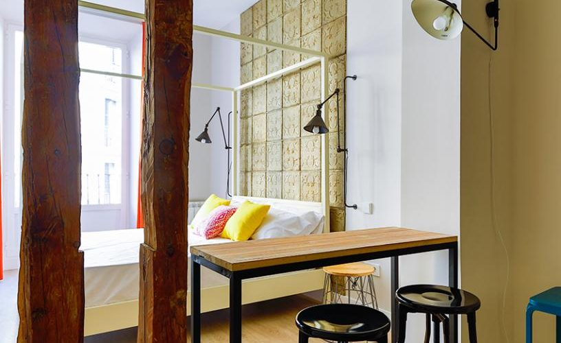 Habitacion en Estudio Loft 2-3 UrbanVida La Latina