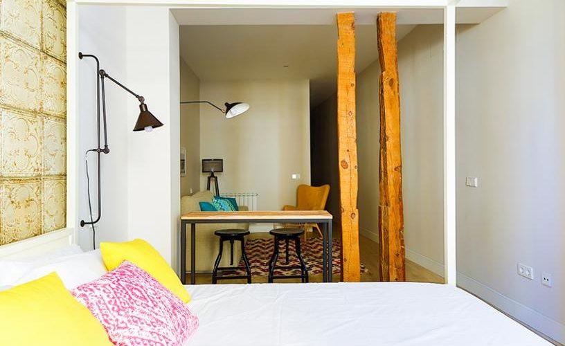 Habitacion en Estudio Loft UrbanVida La Latina3