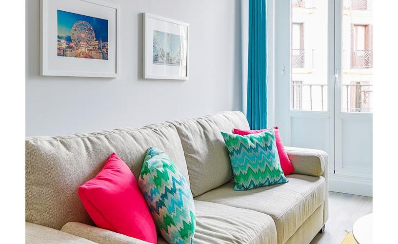 Salon en Apartamento un Dormitorio 3 UrbanVida La Latina5