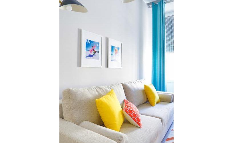Salon en Apartamento un Dormitorio UrbanVida La Latina3