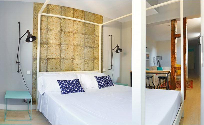 Habitación en Estudio Loft 4.3 @ UrbanVida La Latina
