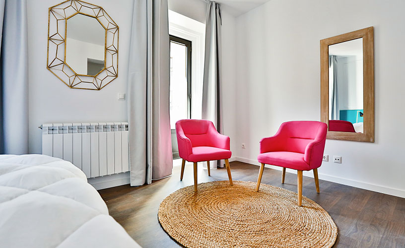 Apartamento flores habitacion doble en Calatrava
