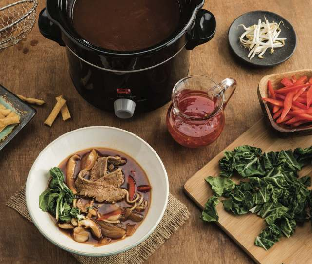 Asian Hot Pot Broth With Tangy Chili Sauce