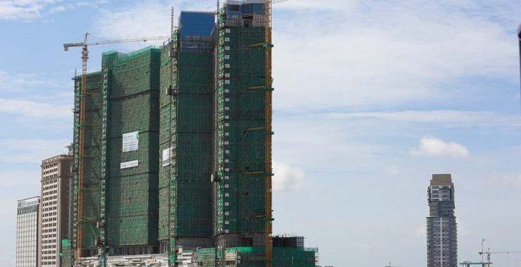 Construction investment up by a third