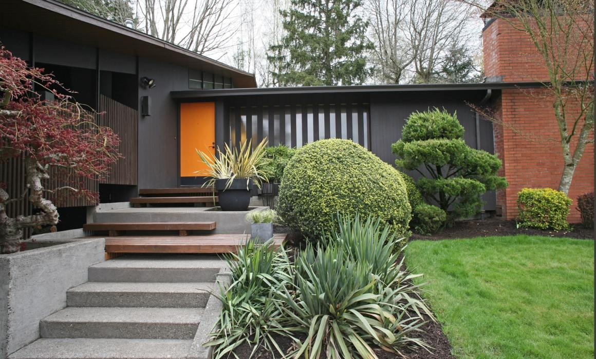 Mid century modern homes in portland