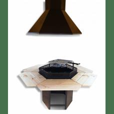 Standard 6 kantet grill