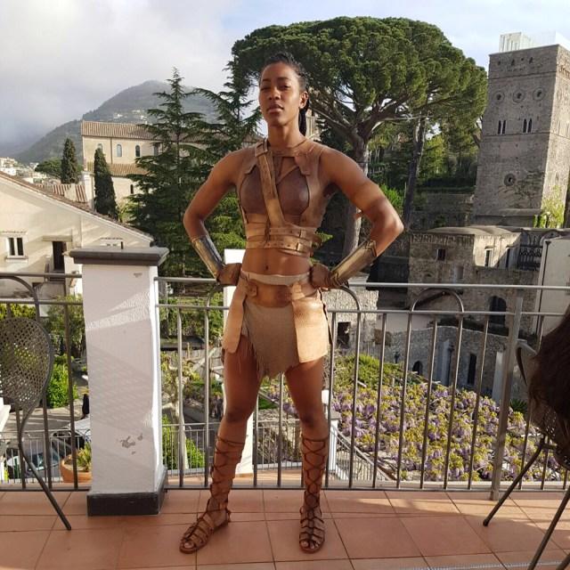 Moe Sasegbon Wonder Woman