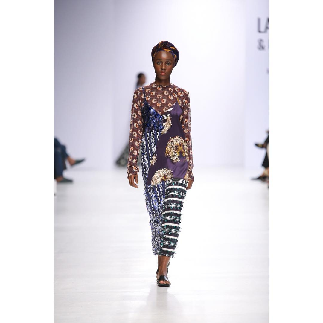 Ifeoma Nwobu on the runway