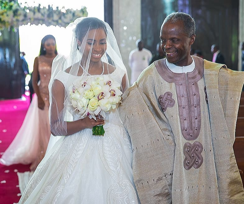 Dolapo Osinbanjo weds Seun Bakare