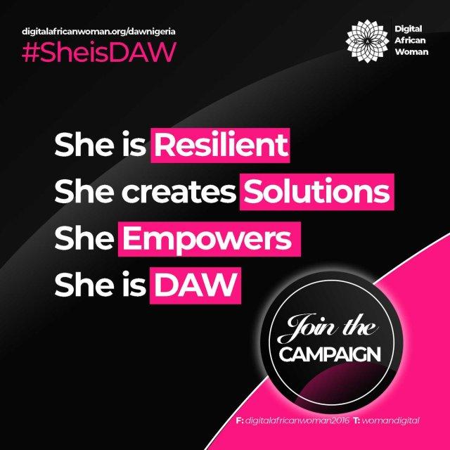 #SheIsDaw