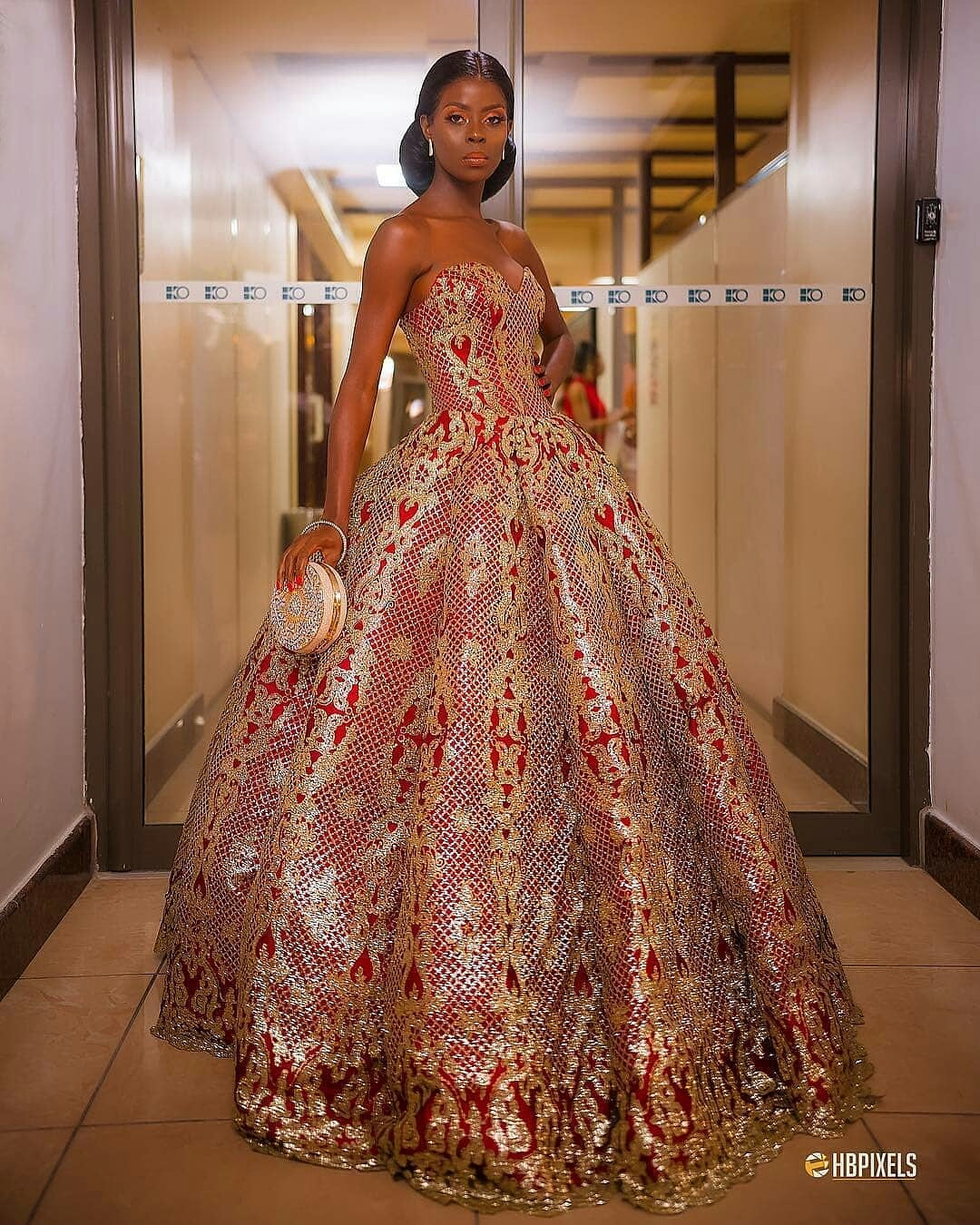 KokobyKhloe dress AMVCA 2018