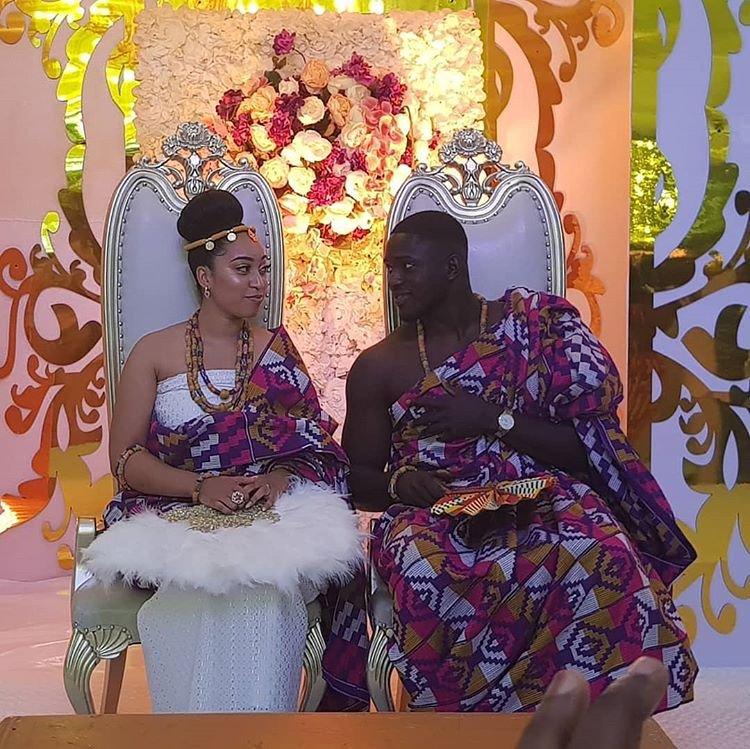 Sharon Oyakhilome weds Philip Frimpong