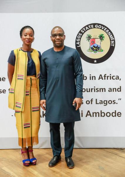 Moyo Ogunseinde (Chairman, Lagos Gymnastics Board) with Charles Ogunwuyi (Vice Chairman Lagos Gymnastics Board) With Charles Ogunwuyi Vice Chairman Lagos Gymnastics Board