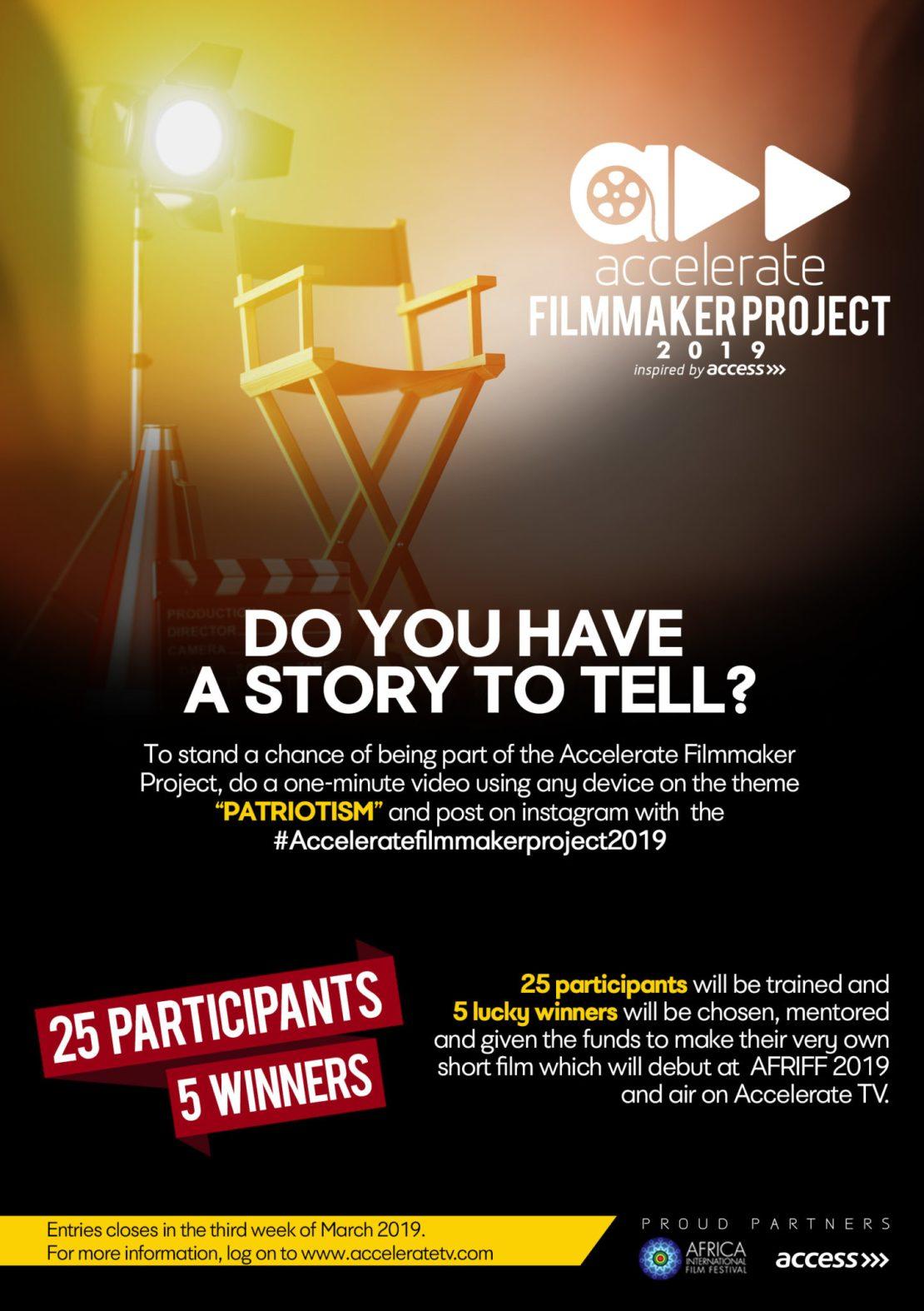 Accelerate Filmmaker Project