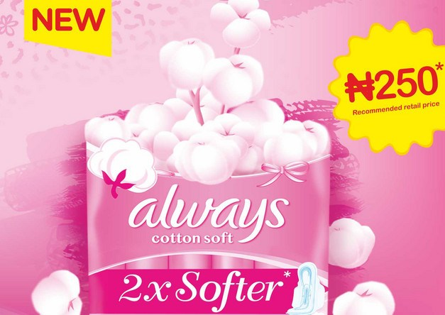 always soft cotton pad