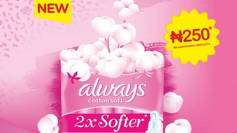 always soft cotton pad