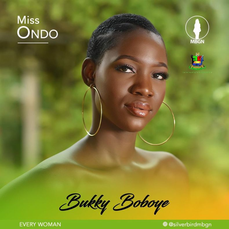 Miss Ondo MBGN 2019 Bukky Boboye