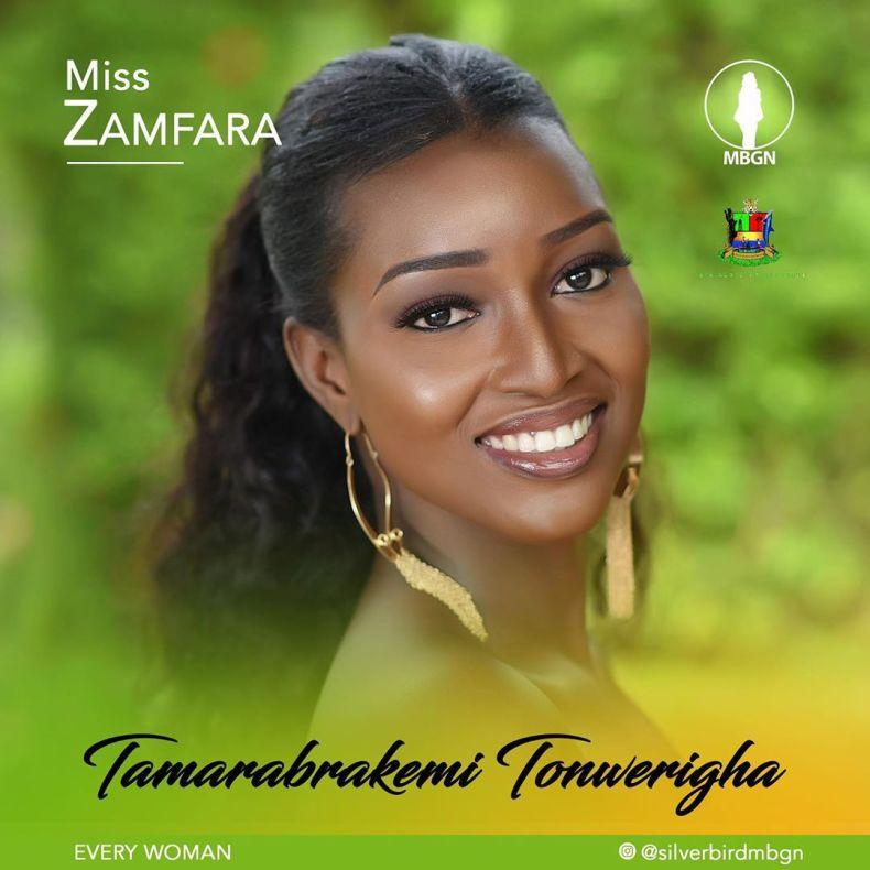 Miss Zamfara MBGN 2019 Tamarabrakemi Tonwerigha