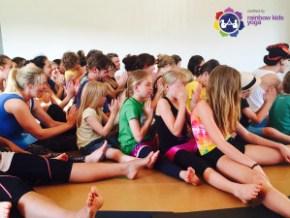 Rainbow Kids Yoga Urban Yoga Wellington
