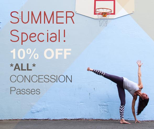 Urban Yoga NZ Summer Special