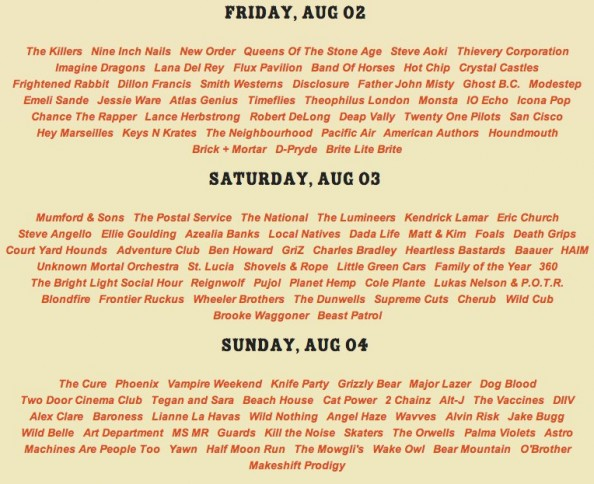 Lollapalooza-2013-daily-lineup