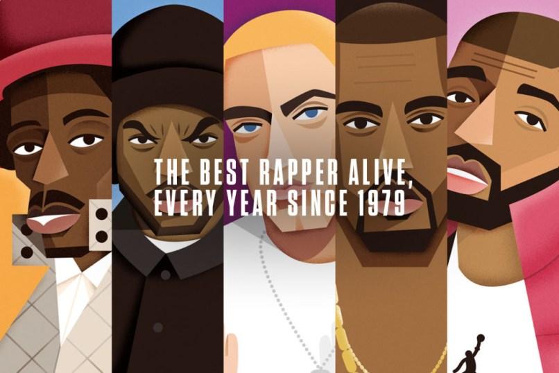 Melhores rappers vivos desde 1979 URBe