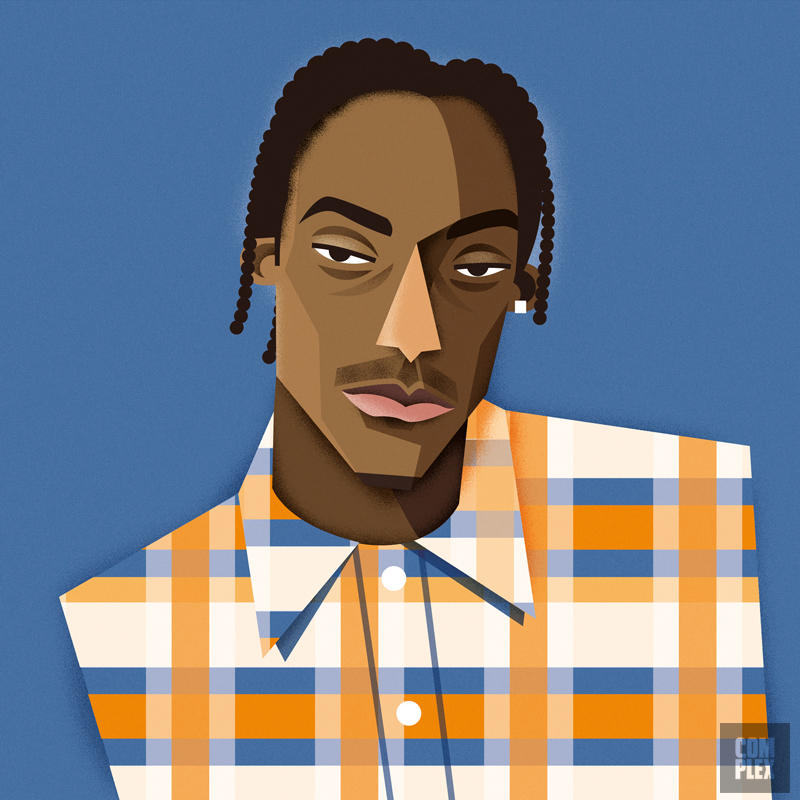 rappers Snoop Doggy URBe