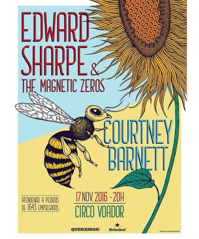 Edward Sharpe Courtney Barnett URBe