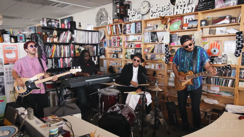 Anderson .Paak Tiny Desk Concert URBe