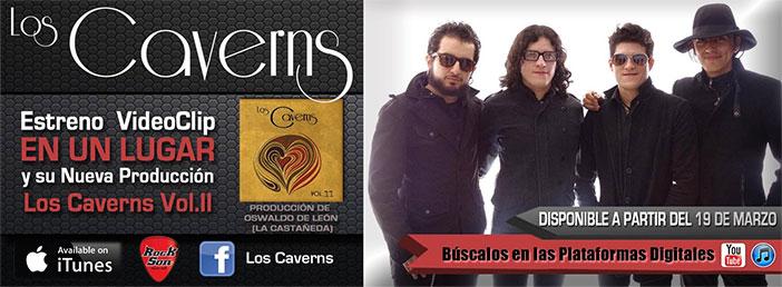 LOS CAVERNS estrenan disco y video-clip en plataformas digitales
